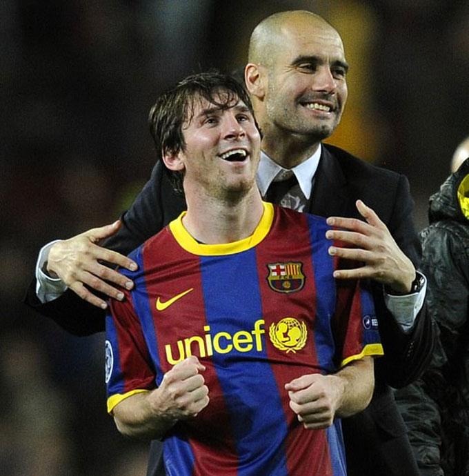 Messi có thể tái ngộ với Pep ở Man City
