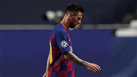Messi thông báo muốn rời Barca ngay lập tức