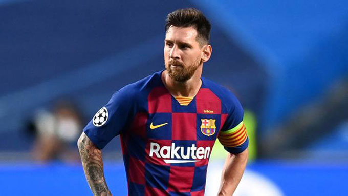 Barca cần phải thay thế dần Messi