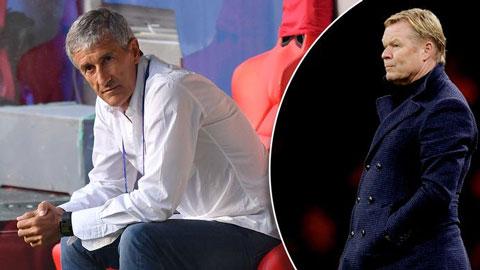 Kết quả họp Barca: Setien bị sa thải, Koeman sẽ thay thế