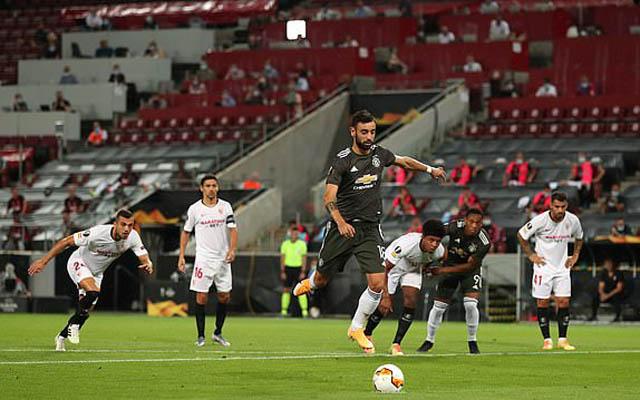 Fernandes ghi bàn mở tỷ số cho M.U