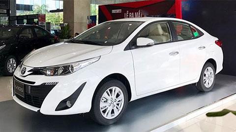 Toyota Vios trở lại ngôi vương, Honda City hụt hơi, Hyundai Accent giá rẻ giữ vững vị số 2