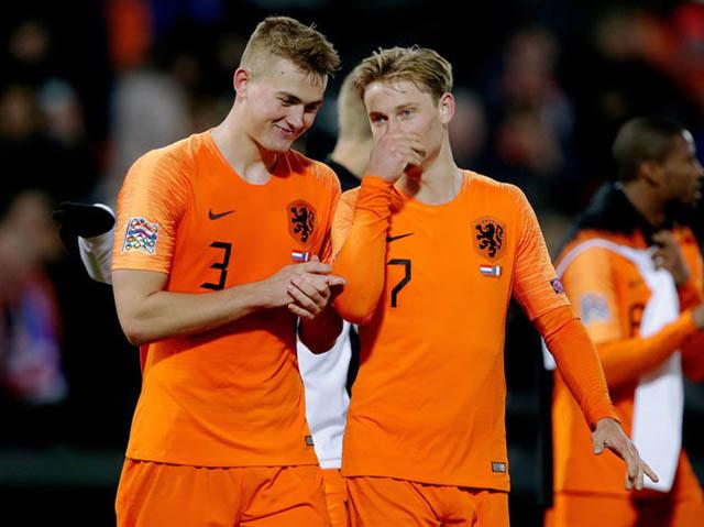 Đôi bạn thân De Ligt và De Jong sẽ sát cánh ở Nou Camp?