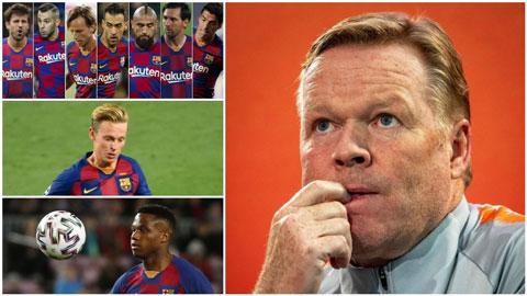 Barca sẽ thành hình như thế nào dưới tay Ronald Koeman?