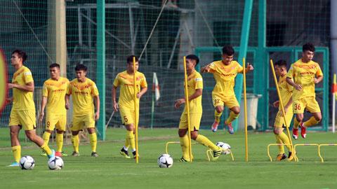 Không có nhiều cầu thủ U22 hiện tại được đá chính tại các đội bóng V.LeagueẢnh: Phan Tùng