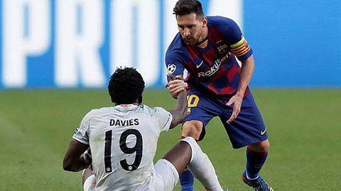 'Cơn lốc đường biên' của Bayern bị Messi từ chối yêu cầu đổi áo