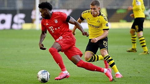 Davies là ông hoàng tốc độ tại Bayern