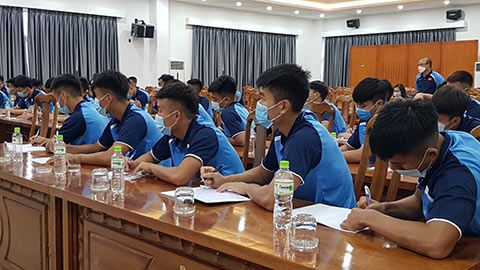 HLV Park Hang Seo yêu cầu U22 Việt Nam học cách ăn uống đúng chuẩn thể thao