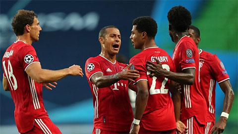 Chấm điểm Lyon 0-3 Bayern: Tôn vinh Thiago và Gnabry