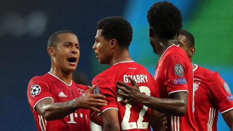 Bayern cân bằng thành tích của Milan, chỉ kém Real tại Champions League