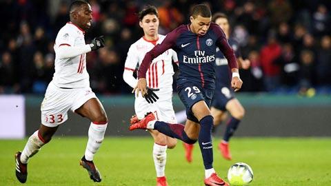 Mbappe chạy nhanh nhất trong giới cầu thủ
