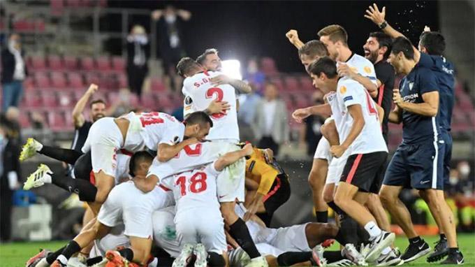 Sevilla toàn thắng cả 6 lần vào chung kết Europa League