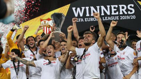 Hành trình vô địch Europa League ấn tượng của Sevilla