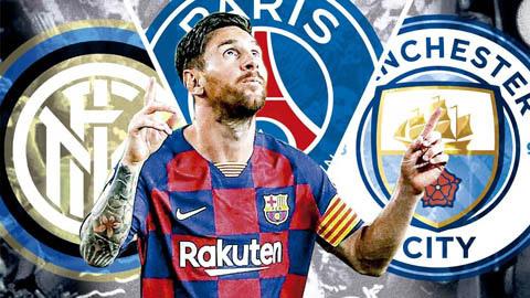 Rời Barca, Messsi sẽ chọn Inter, PSG hay Man City?
