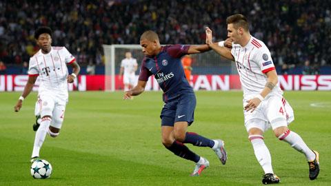 Mbappe (giữa) và đồng đội sẽ biết cách vượt qua Bayern