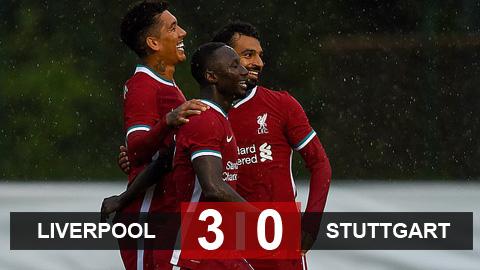 Kết quả Liverpool 3-0 Stuttgart: Chạy đà hoàn hảo