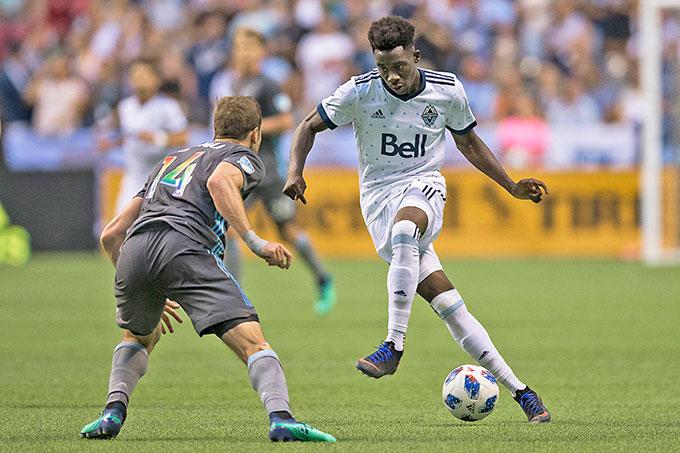 Davies tỏa sáng tại Vancouver Whitecaps