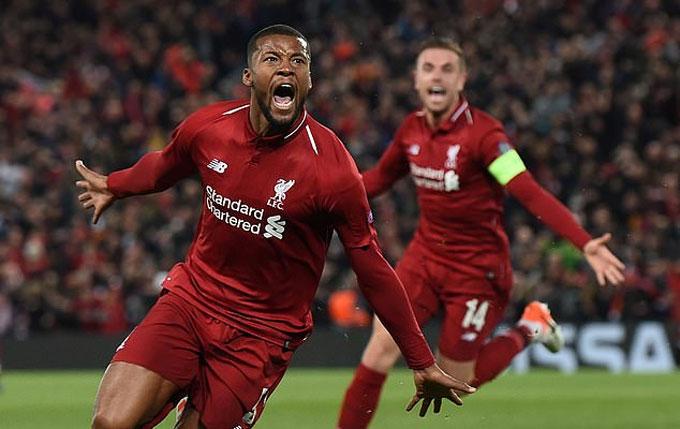 Wijnaldum là một trong những công thần của Liverpool