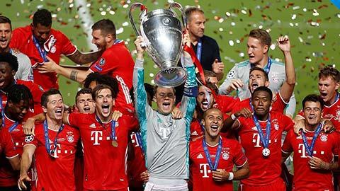 Bayern giành chiến thắng tuyệt đối 100% ở Champions League 2019/20
