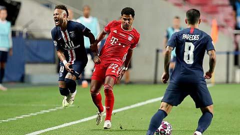 Gnabry được Gullit khen ngợi cú 'đốn giò' Neymar sấp mặt