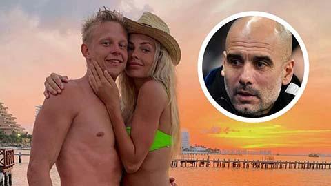 Zinchenko bảo vệ vợ sau phát ngôn chê Pep Guardiola