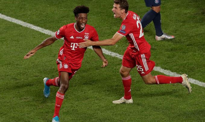 Bayern hiện tại là đội bóng có sự kết hợp của sức trẻ như Kingsley Coman và kinh nghiệm như Thomas Mueller