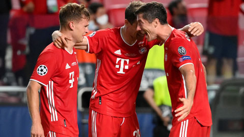 Bayern Munich thành công nhờ bệ phóng 'chuyển nhượng thông minh'