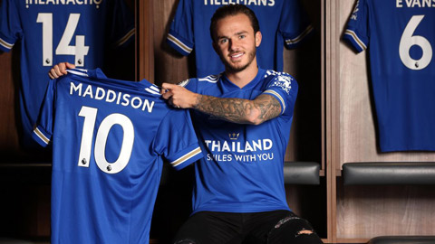 Leicester trói chân Maddison thêm 4 năm, chấm dứt tham vọng của M.U