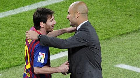 Man City cân nhắc nghiêm túc chuyện tái hợp thầy trò Pep - Messi