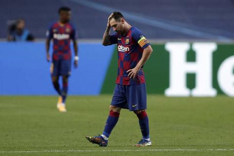 Messi thất vọng với tình hình hiện tại ở Barca và để ngỏ khả năng ra đi