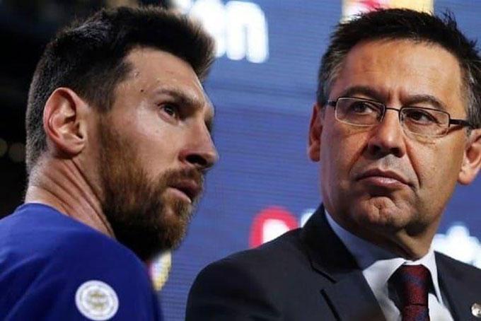 Mục đích thật sự của Messi là loại bỏ Bartomeu?
