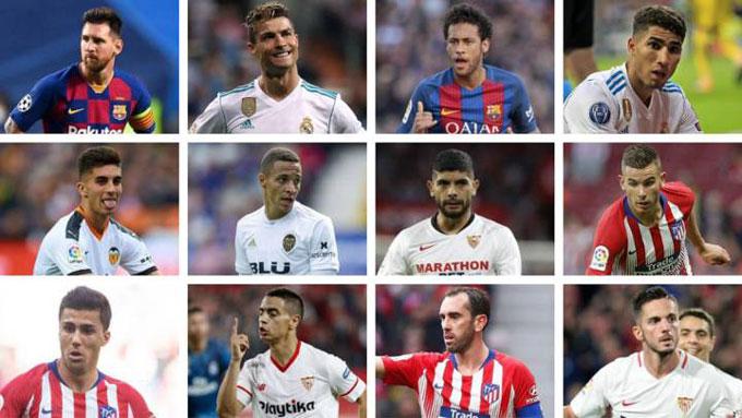 Rất nhiều ngôi sao đã lần lượt rời La Liga và sắp tới có thể là Messi
