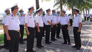 Chính ủy Hải quân thăm, kiểm tra Lữ đoàn Hải quân đánh bộ 147