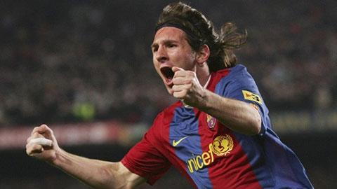 Messi 18 tuổi khiến hàng thủ trứ danh của Chelsea khốn khổ