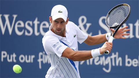 Djokovic dễ thở, Thiem rơi vào hiểm địa ở US Open 2020