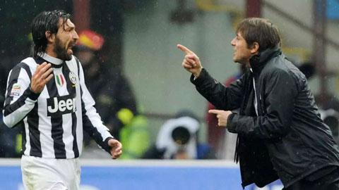 Pirlo - Conte: Cuộc chiến giữa thầy và trò sắp bắt đầu