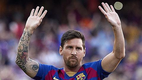Messi xếp trên Ramos, chỉ đứng dưới 1 người trong top những cầu thủ trung thành nhất châu Âu