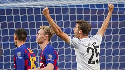 Mueller tiết lộ Barca cực kỳ tự tin trong ngày thảm bại 2-8