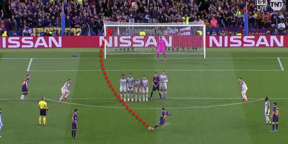 Sút phạt là kỹ năng đáng sợ của Messi