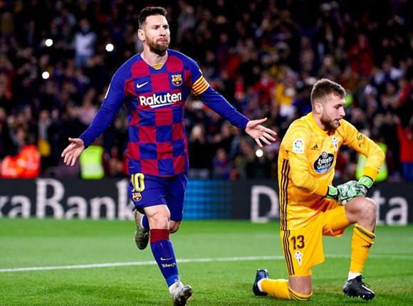 Tuy tốc độ đã giảm mạnh nhưng Messi luôn là cơn ác mộng của các thủ môn