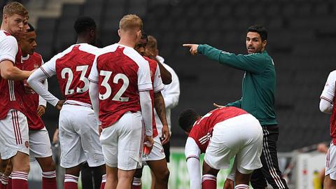 Arsenal sẽ đá trận khai mạc mùa giải 2020/21