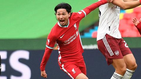 Minamino và bước tiến dài trong màu áo Liverpool