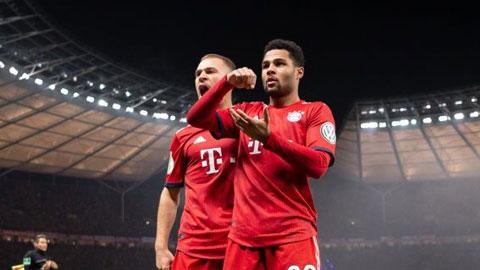 Bayern Munich: Tình bạn nhiều thử thách giữa Kimmich và Gnabry