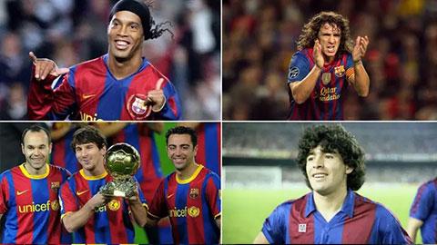 Messi không phải là cầu thủ Barca được fan yêu thích nhất