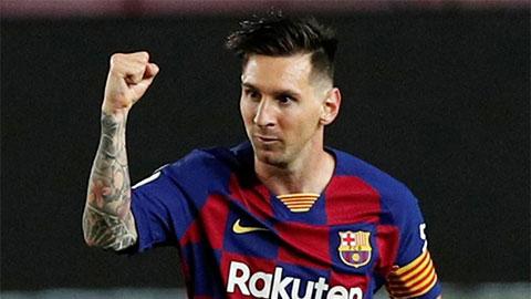 Man City thảo sẵn siêu hợp đồng 5 năm độc nhất với Messi