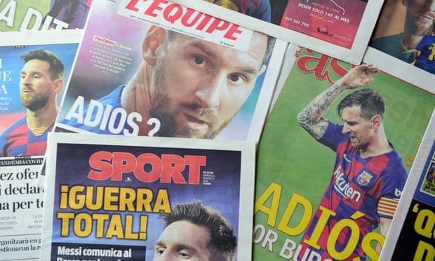 5 ngày qua, tin tức về Messi khiến cả thế giới phải quay cuồng