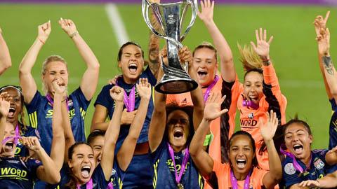 Đội nữ Lyon lần thứ 7 vô địch Champions League
