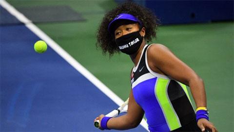 Chiếc khẩu trang đặc biệt của Naomi Osaka ở US Open 2020