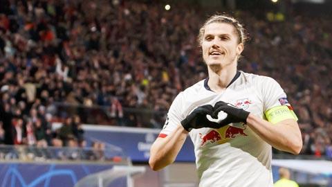 Tỏa sáng ở Champions League, Sabitzer trở thành đội trưởng mới của Leipzig