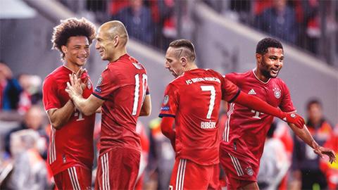 Bayern chọn truyền nhân mang số áo từng thuộc về Ribery